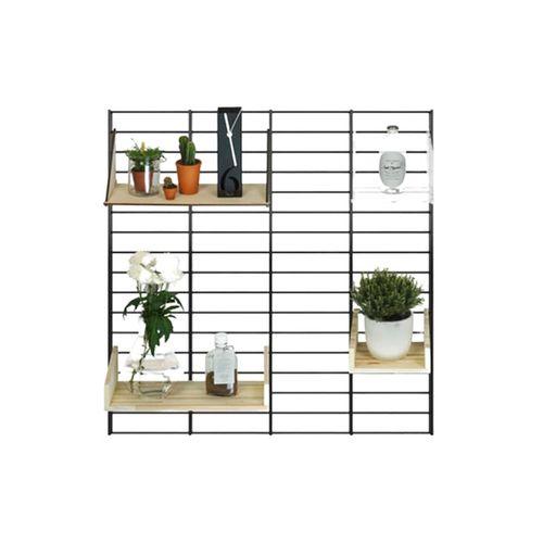 Tolhuijs Decoratief En Multifunctioneel Wandrek – Fency - Zwart