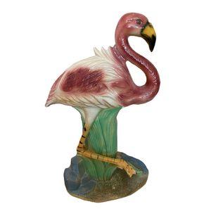 Flamingo Keramiek Beeld Groot