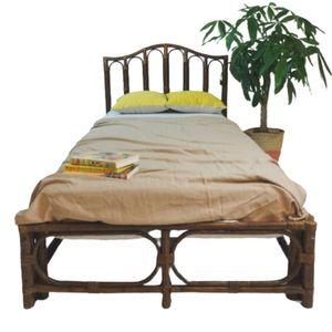 Rotan Eenpersoonsbed