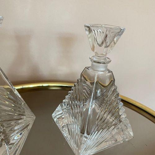 Set Van 2 Karafjes Van Kristal