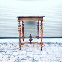 Antieke Mahoniehouten Tafel