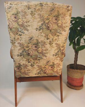Vintage Fauteuil Bloemenstof