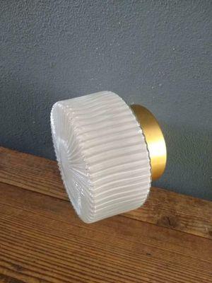 Vintage Ronde Plafondlamp Plafoniere