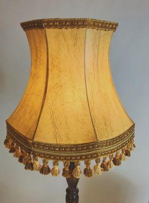 Grote Vloerlamp Met Franje Kap