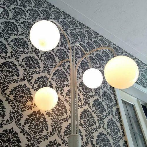 Vintage Space Age Elco Lite Dutch Design Vloerlamp