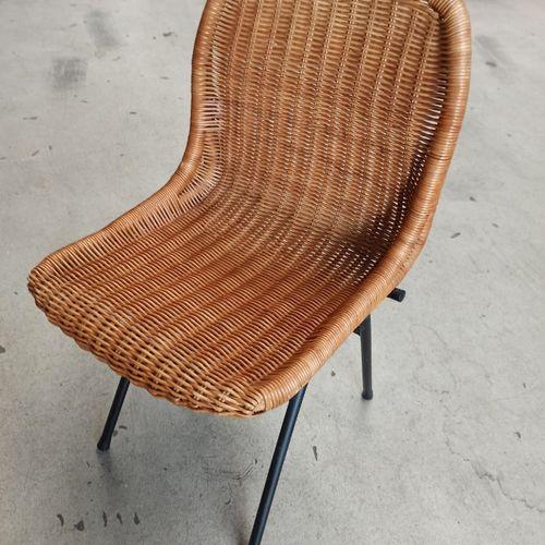 Vintage Design Rieten Stoel (Rohe Noordwolde)