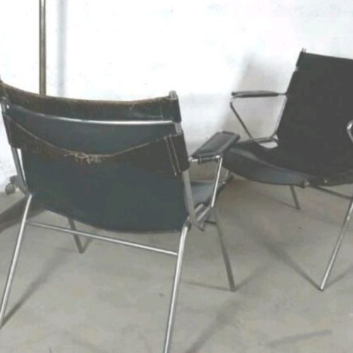 Vintage Scandinavisch Design Fauteuil X2