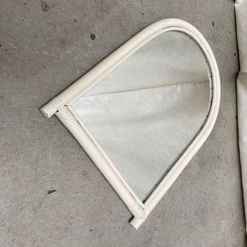 Witte Bamboe Spiegel
