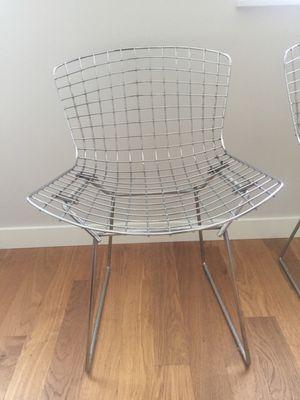 Zilveren Draadstoeltjes